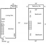 mlk floorplan