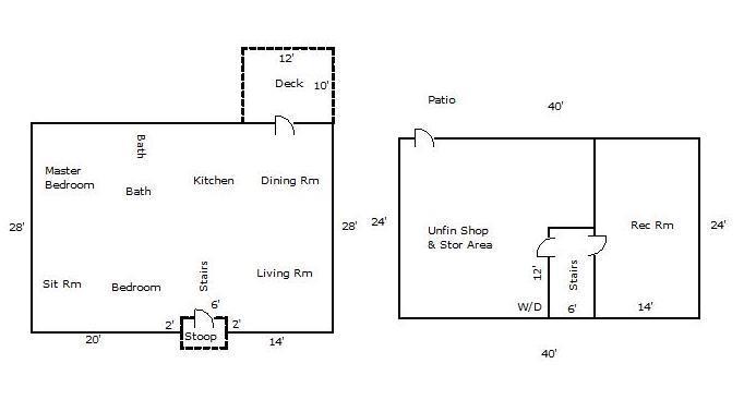 1527 Glasgow St Floor Plan